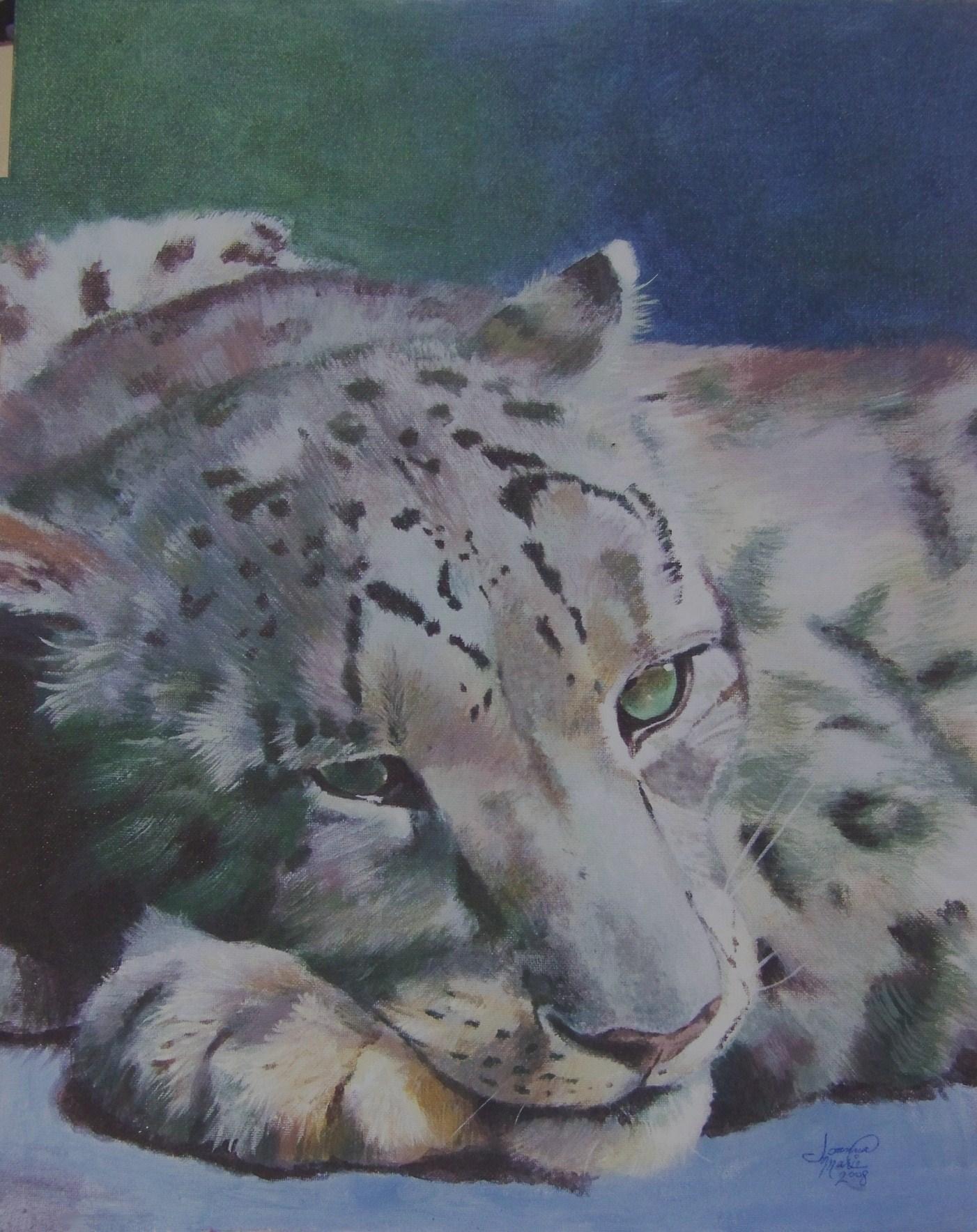 Lilith, 2008, 16x20, Acrylic Paint