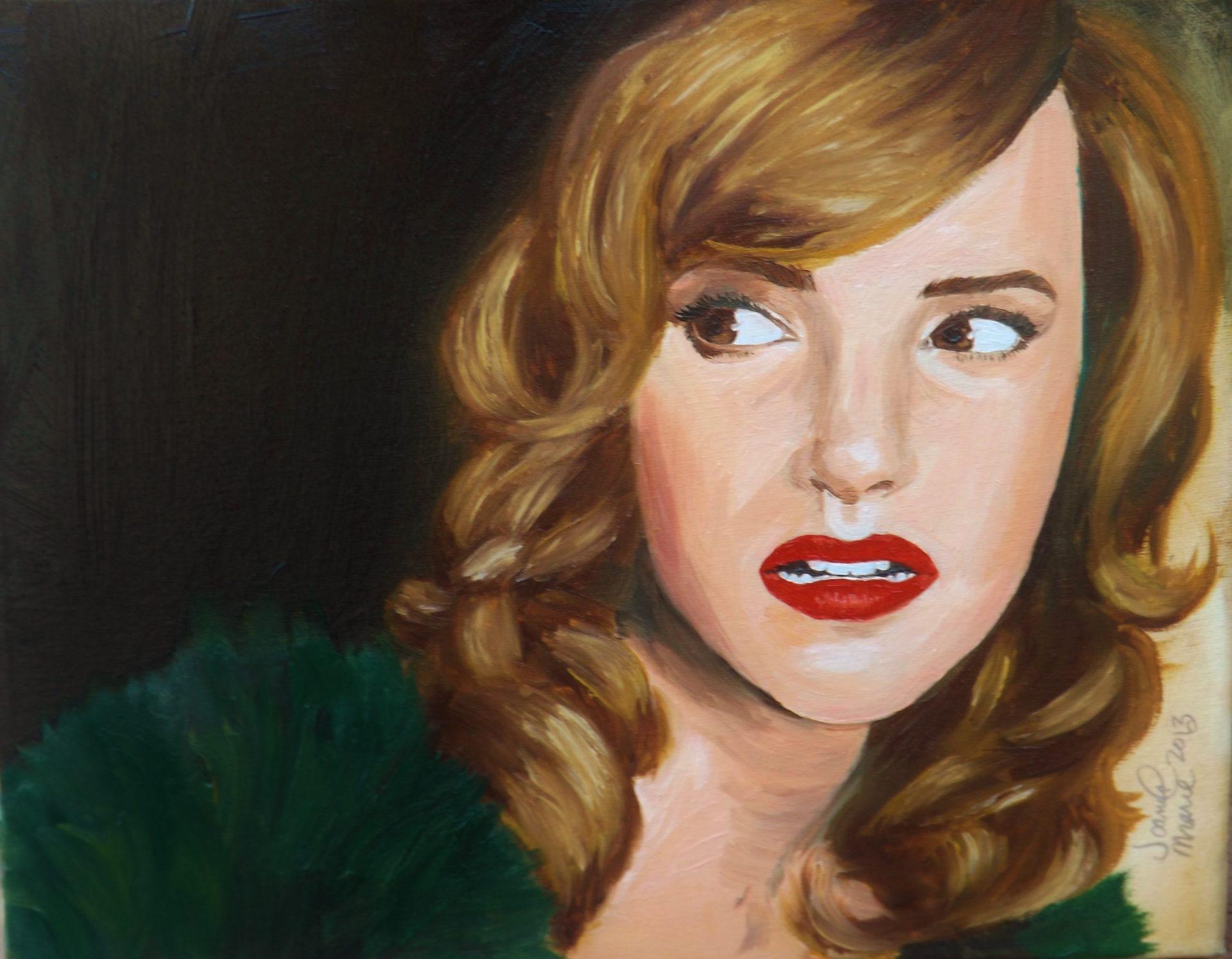 Emma, 2013, 9x12, Oil Paint