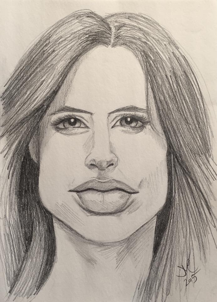 Marvel's Jessica Jones, 2015, 8x10, Graphite Pencil