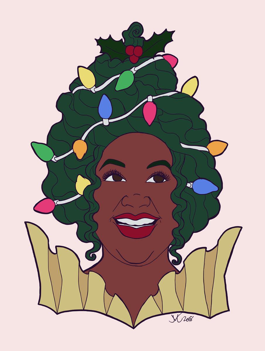 Christmas Cupcake Queen