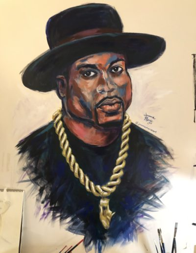 "Jam Master Jay, 36""x48"" (approx), Acrylic"